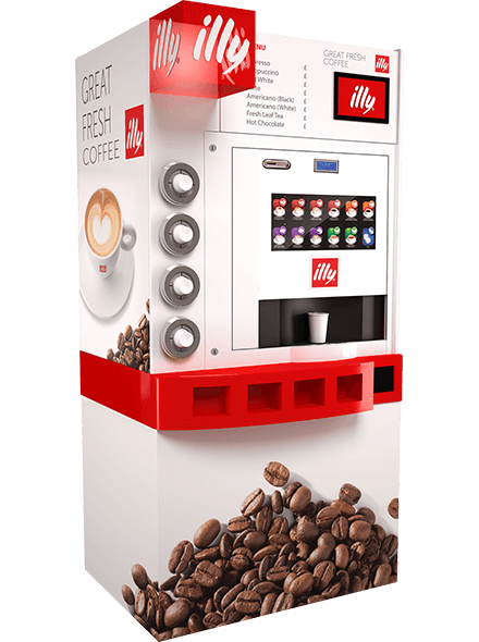 les machines caf illy coffee tower pelican rouge. Black Bedroom Furniture Sets. Home Design Ideas