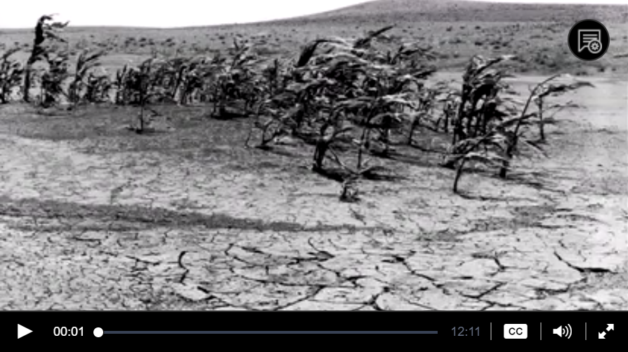 """Environmental Catastrophe"" PBS film on the ""Dust Bowl"