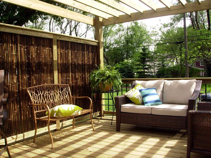 Bamboo Fencing   Privacy Fence Panel Rolls | 7 Year Warranty. Outdoor  PatiosOutdoor ...