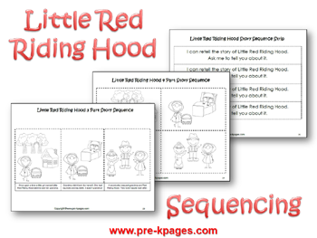 Little Red Riding Hood Literacy  Little red Red riding hood and