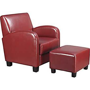 Remarkable Osp Designs Office Star Faux Leather Club Chair W Ottoman Beatyapartments Chair Design Images Beatyapartmentscom
