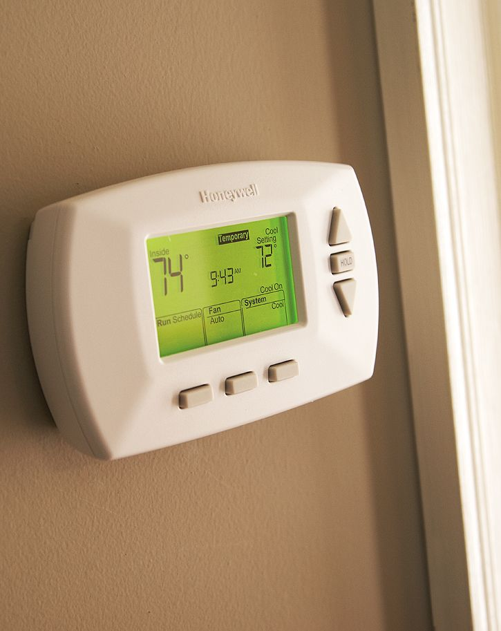 Programmable Thermostat Installation Guide At The Home Depot Home Thermostat Home Improvement Contractors Home Improvement