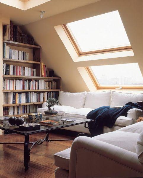 Ideas para decorar nuestras buhardillas decorar tu casa for Hipo muebles