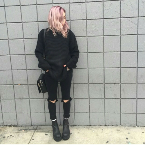 Beautiful Grunge Aesthetic Winter Outfits - india's wallpaper