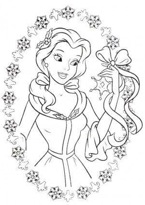 ร ปภาพการ ต นระบายส เจ าหญ ง Bell Rapunzel Coloring Pages Princess Coloring Pages Belle Coloring Pages