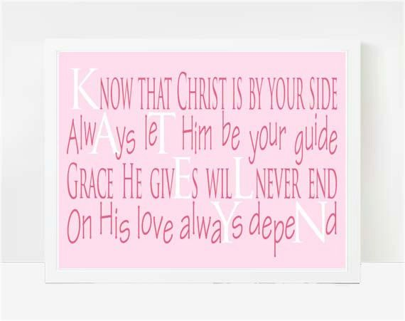 Personalized Dedication Gifts Baby Dedication By Larkroadrhymes