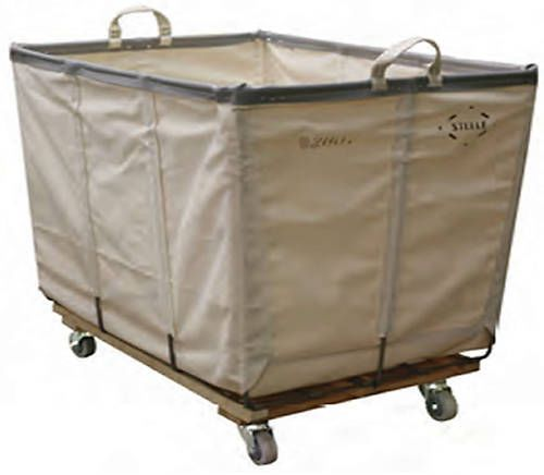 Details About Wht Canvas Laundry Basket Truck With Wheels