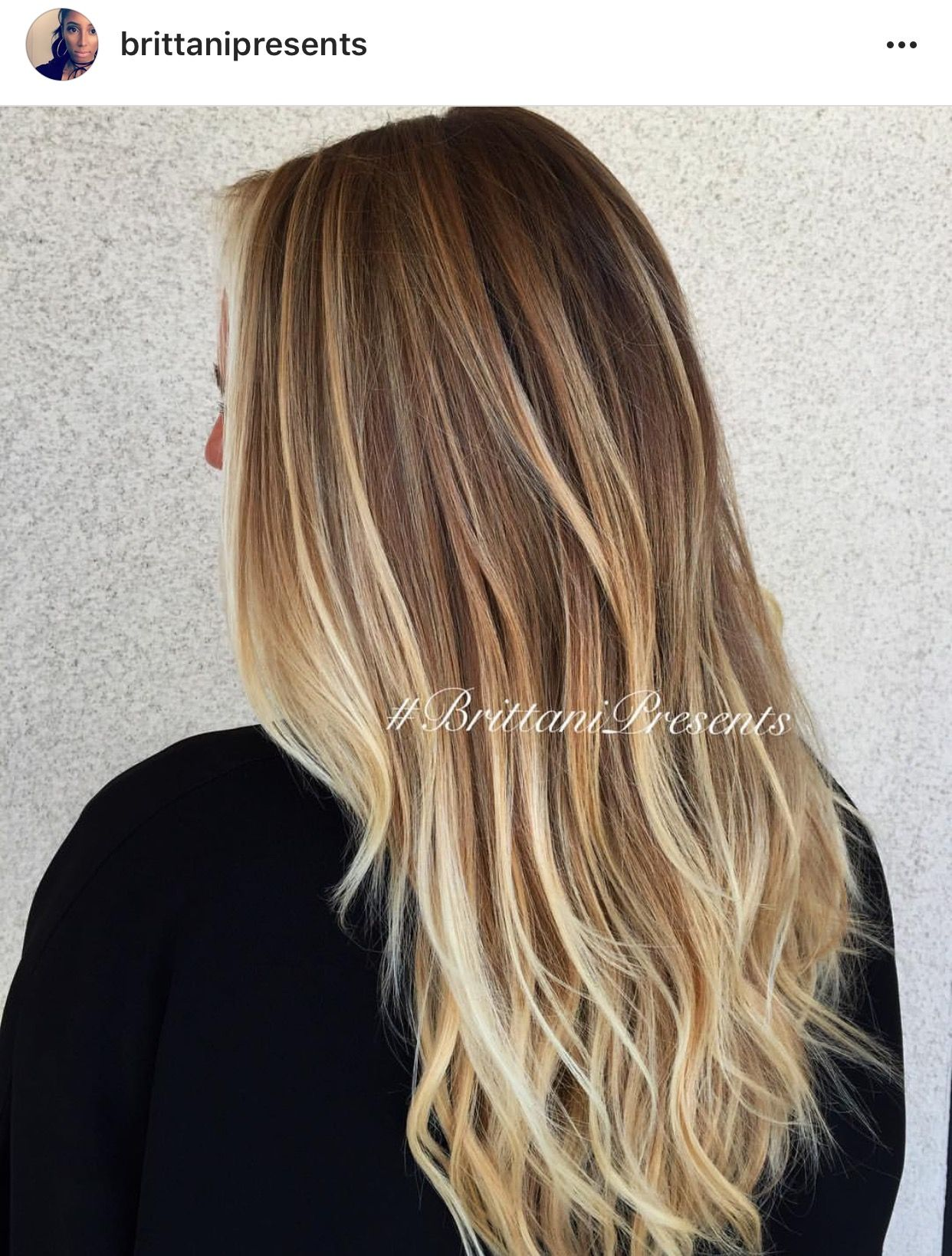 Golden Blonde Balayage Highlights Blondes Pinterest Golden