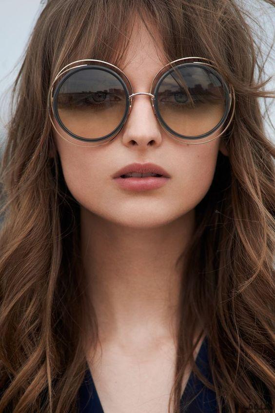 نظارات شمسية  33 نظارة شمسية للنساء و الرجال   موضة 2018 Lunettes Chloé,  Lunettes a0eab254f003
