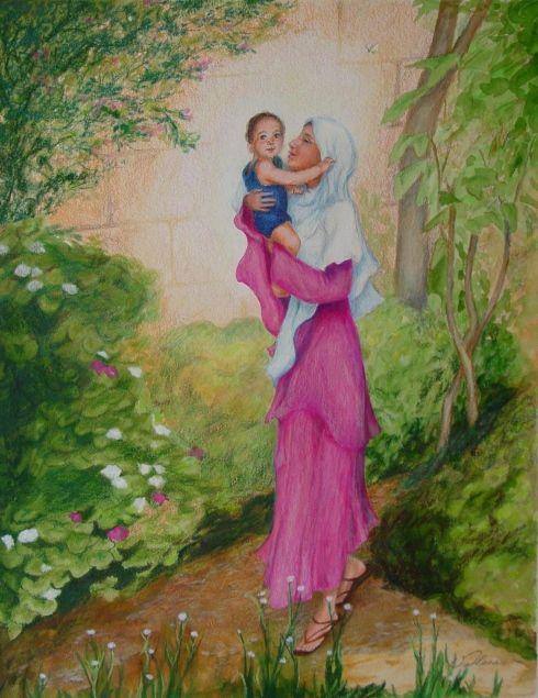 Mary's Bundle of Joy
