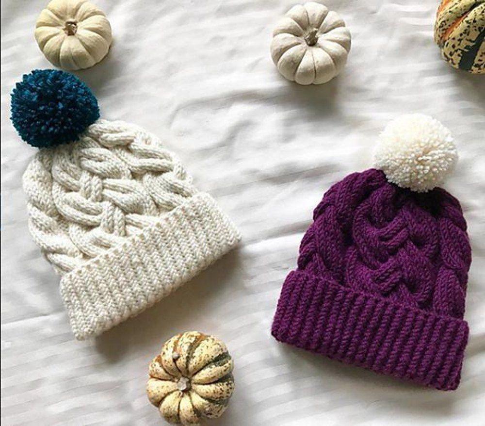 Heather Hat Knitting pattern by Yaroslava Vakhrushkina