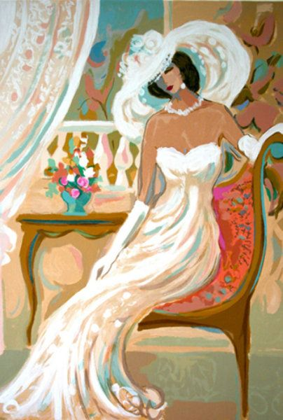 """Limited Edition Print """"Camille"""" by Isaac Maimon"""