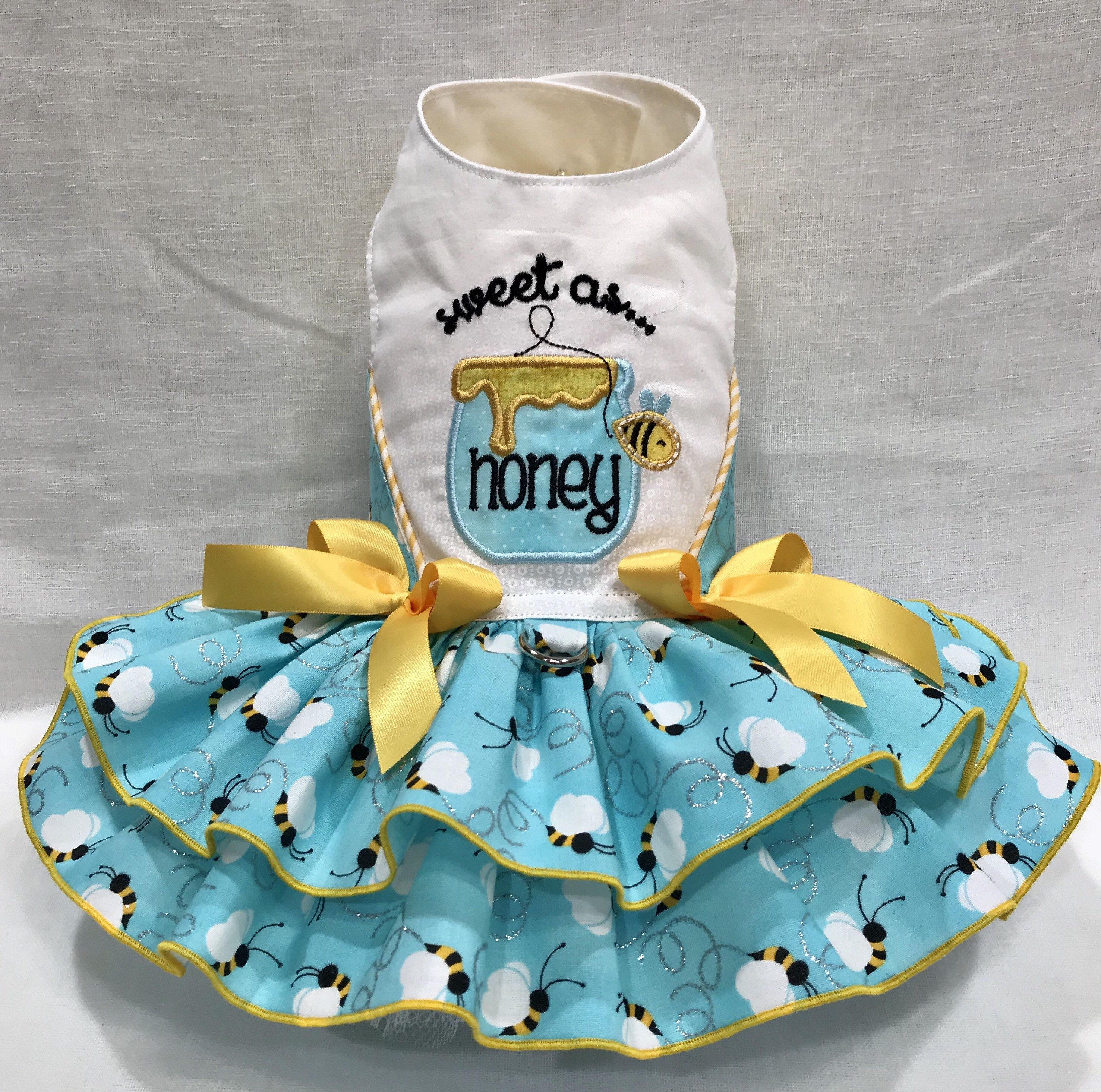 0df35dc9d019 Sweet as Honey Dog Dress By Little Paws Boutique by ...