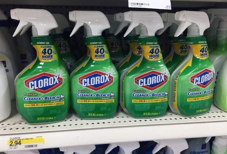 Clorox Products, as Low as $0 71 at Target, Starting 6/5!   Click