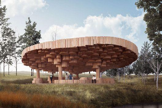 Francis Kéré Designs a Wooden Art Pavilion for Tippet Rise ...
