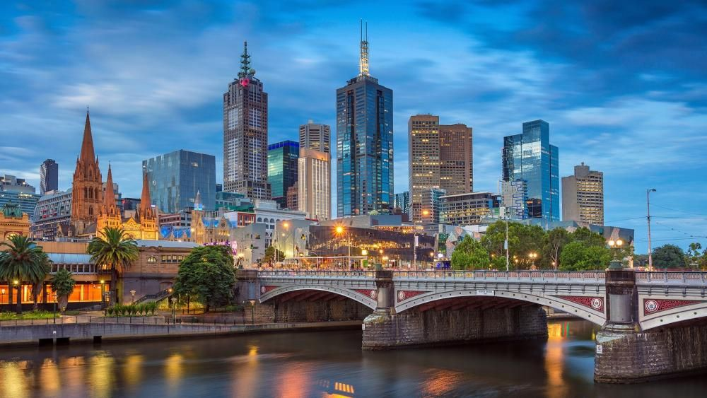 Princes Bridge In Melbourne Wallpaper | Wallpaper Studio 10 | Tens of thousands HD and UltraHD wallpapers for Android, Windows and Xbox