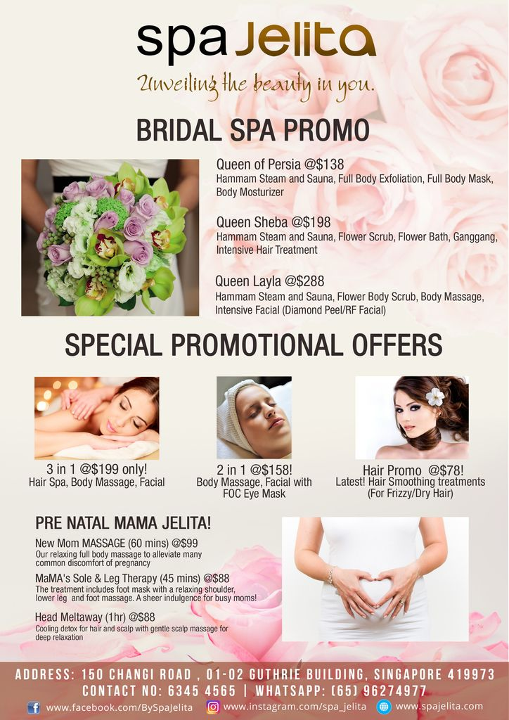 Pin by SpaJelita on Services | Spa party, SPA, Singapore
