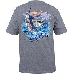 """Blue Storm"" Salt Life T-Shirt | Wabasso Beach Shop"