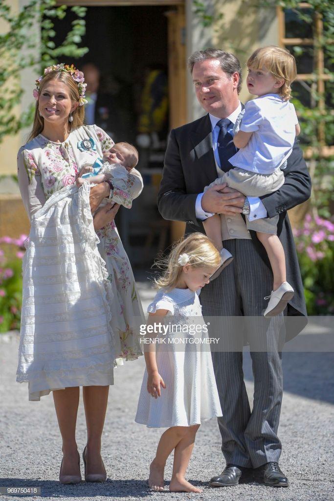 Princess Madeleine of Sweden, princess Adrienne of Sweden