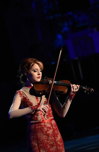 Cma Christmas Special 2020 Orchestra Violinist Lindsey Stirling Photos Photos: CMA 2015 Country Christmas   Show