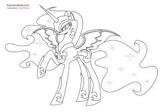 Nightmare Moon Coloring Pages Coloring99 Com My Little Pony Coloring Moon Coloring Pages Unicorn Coloring Pages