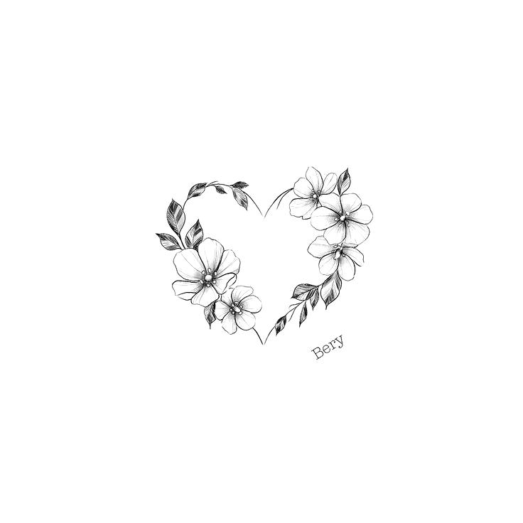 # Reservierbares Design. Sie können die Größe an den gewünschten Bereich anp…  – Tattoo Frauen –