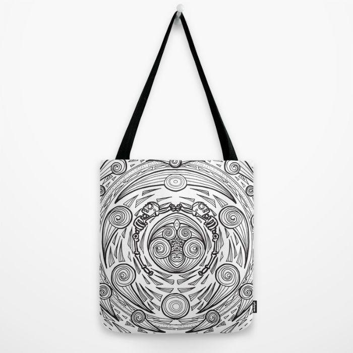 Pancuecuetlacayan Tote Bag by Mena Bo | Society6