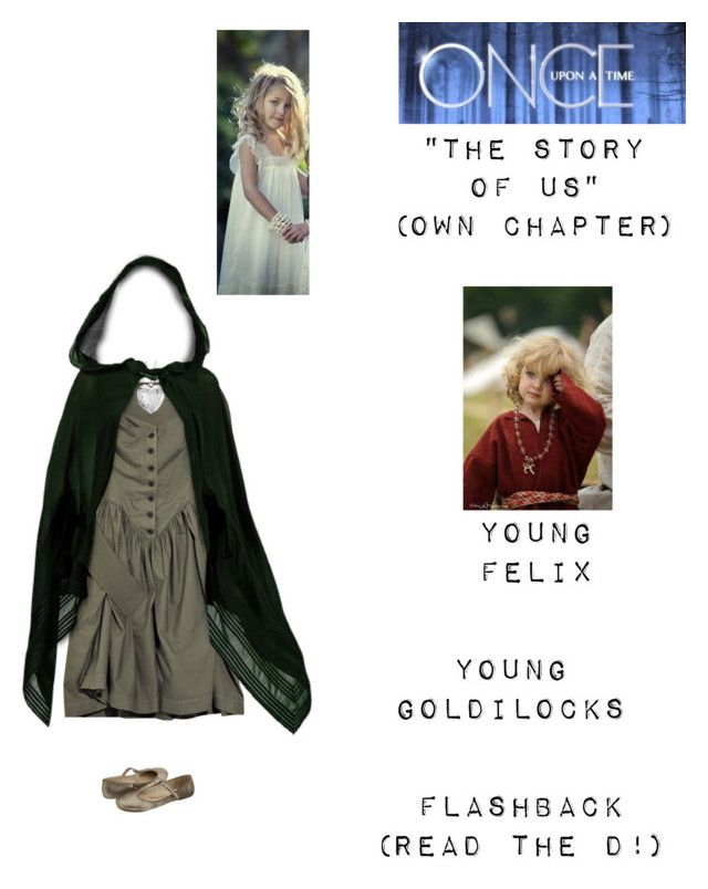 """""""OUAT - S3 Own Chapter: """"The Story of Us"""" - Young Goldilocks (Read the d!)"""" by nerdbucket ❤ liked on Polyvore featuring Vivienne Westwood Anglomania, Blue Nile and DKNY"""