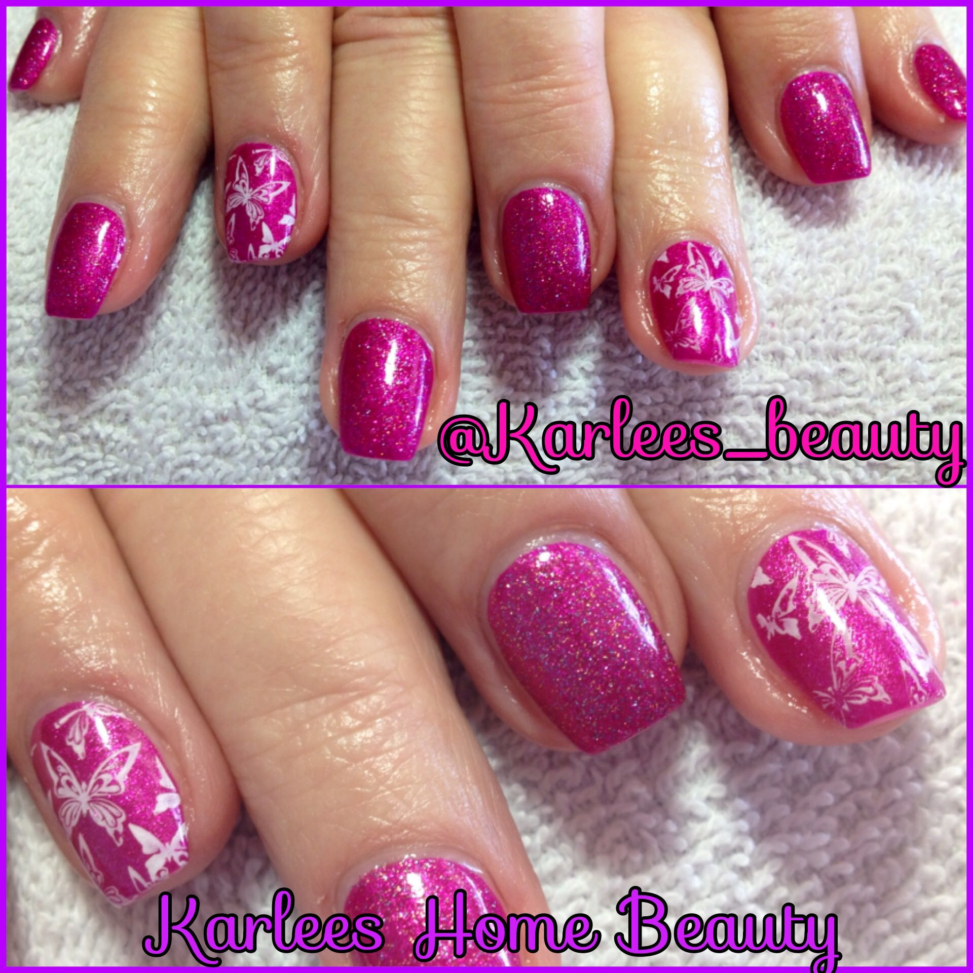 Acrylic Nails With Chad Prevost Color Wild Rose And Kiss
