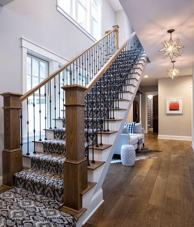 wrought iron spindles for sale stair home depot beautiful open staircase patterned carpet leading floor