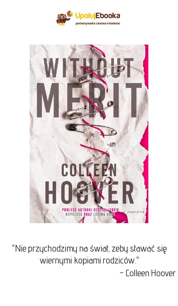 Without Merit Colleen Hoover Ebook Książka Cytaty Z