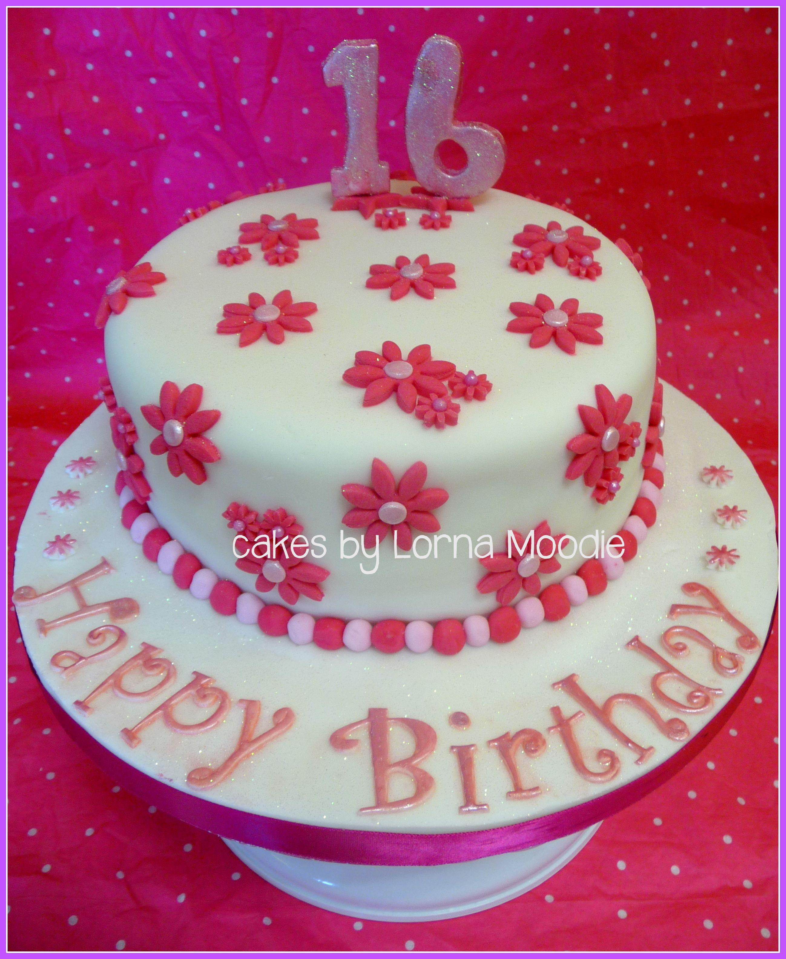 Simple Birthday Cake Cakesbylorna Cake Ideas