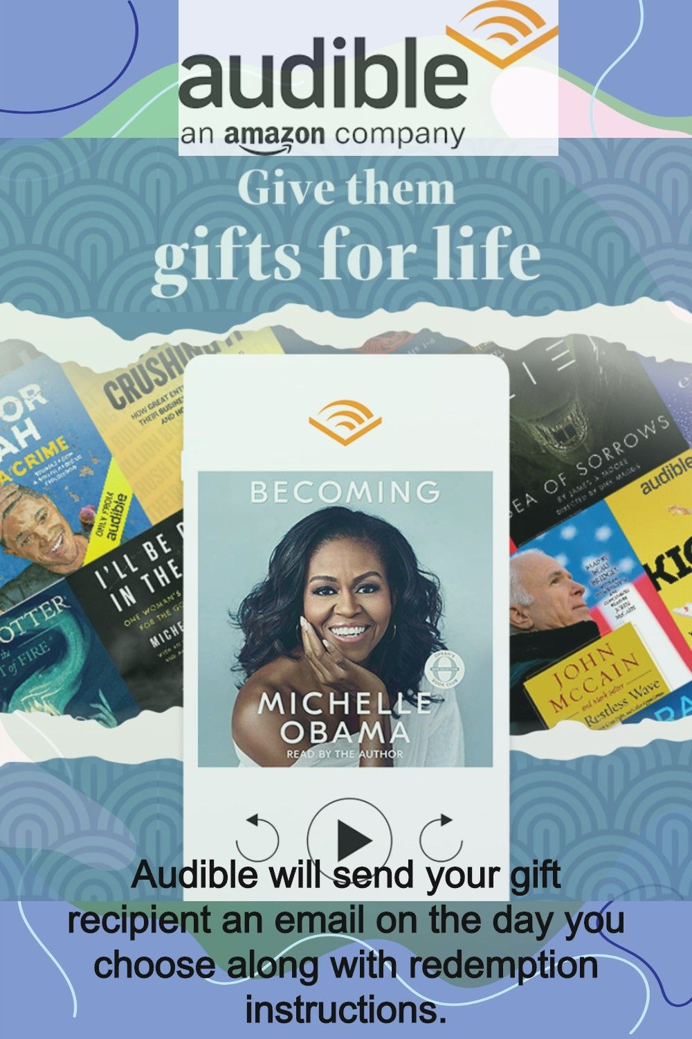 Audible Gift Company Gifts Audible Books Audio Books