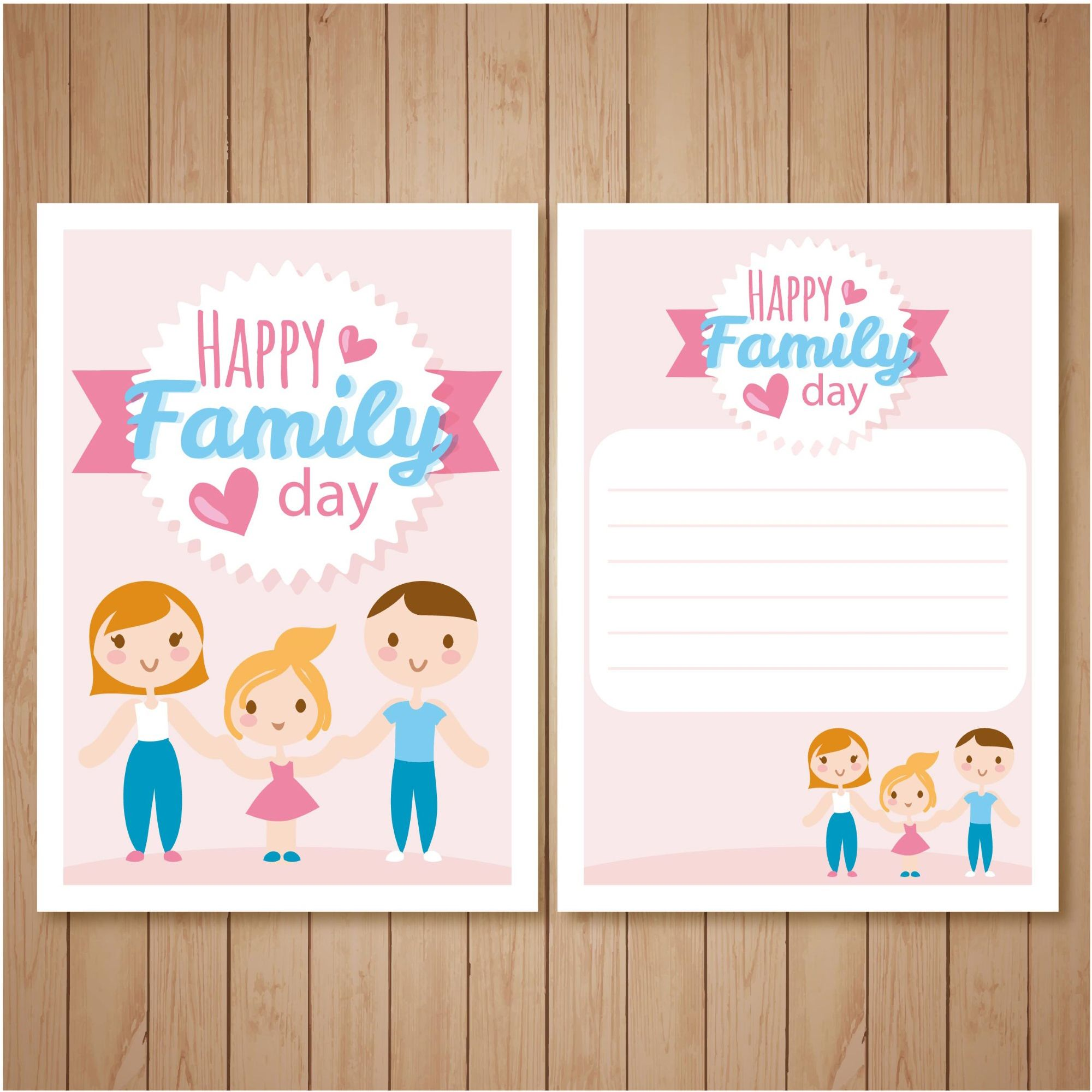 Happy family day greeting design card for chilerns 500 best are you looking for mother day greeting card vector background we have combined 604 mothers day vector party background for crafts and decorations kristyandbryce Images