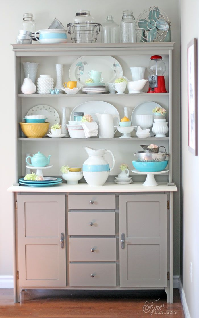 Modern Kitchen Hutch creative collection link party 10/3 | modern farmhouse kitchens