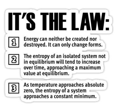 Three Laws Of Thermodynamics For Gibbs And Free Energy Portion Of Enzyme Energetics Thermodynamics Tesla Free Energy Free Energy