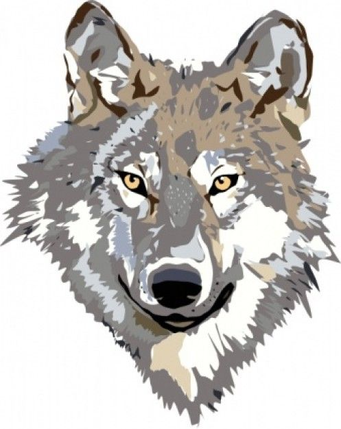 Image result for Wolf Clip Art