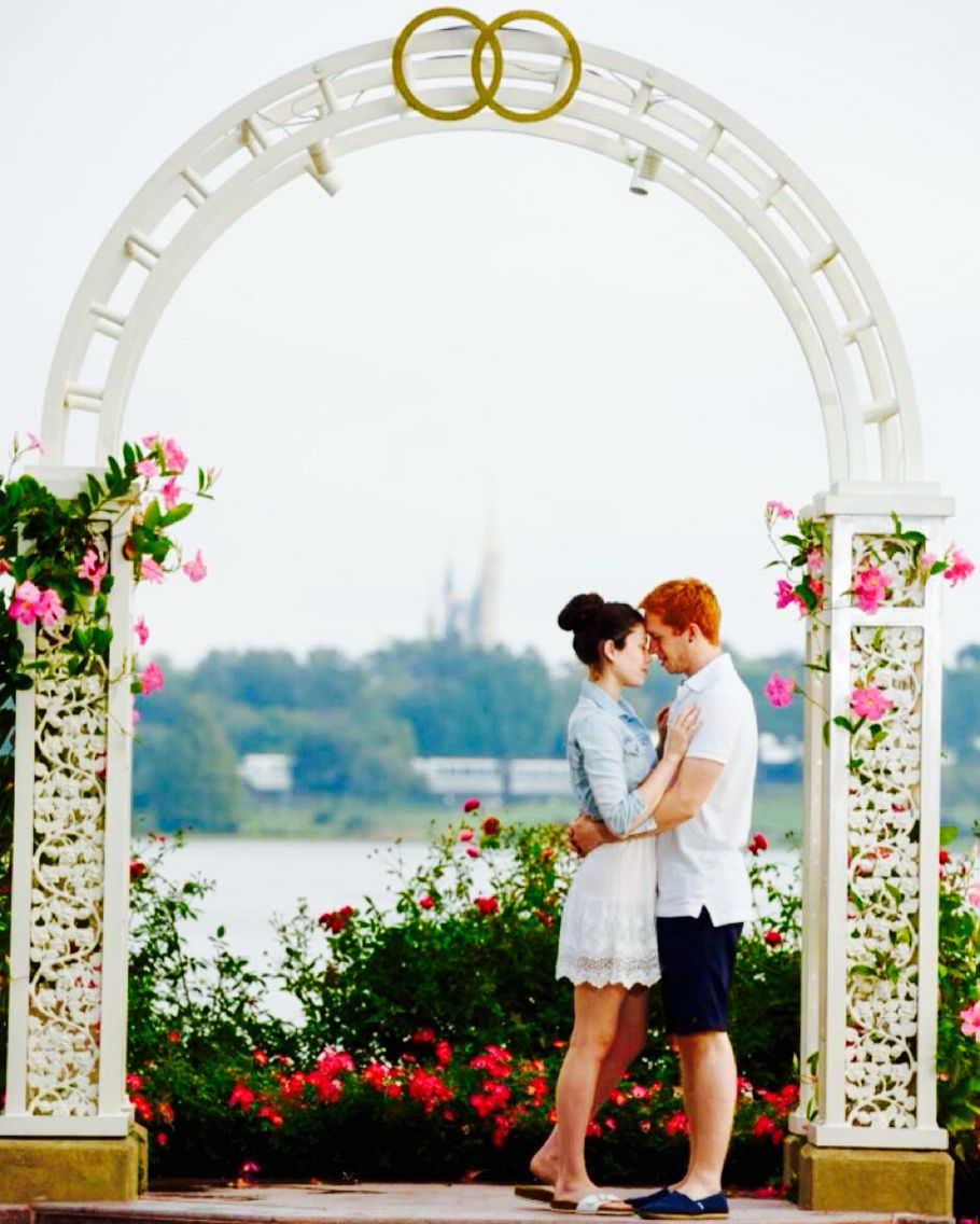 Disney Franks wedding pavilion photos bride and groom honeymoon