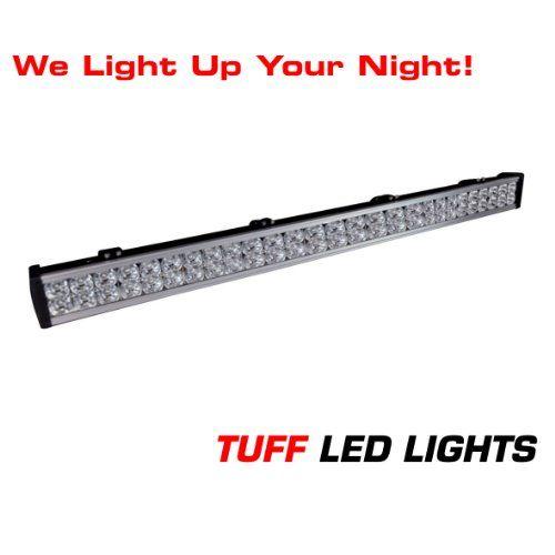 Tuff Led Lights Off Road 4x4 Jeep 40 Inch Led Light Bar 144 Watt 8000 Lumen Utv Polaris Ranger Yamaha Rhino Better T Led Light Bars Polaris Ranger Atv Trailers