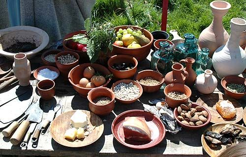 roman ancient food romans diet mediterranean ate foods greek today cooking rome drink empire britain fruit recipes gathered history such
