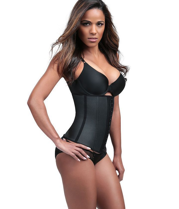 a49effacd38 Diva Fit By Squeem 62Cc Waist Trainer Latex Workout Gym Girdle Shapewear  Comfy.