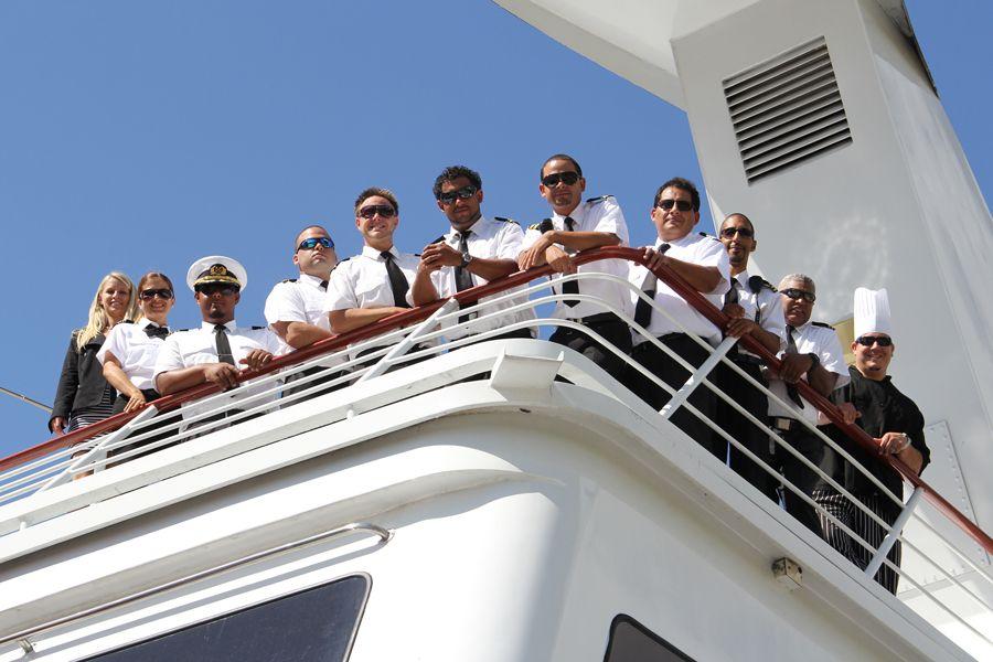 Executive yacht crew for windridge yacht charter yacht