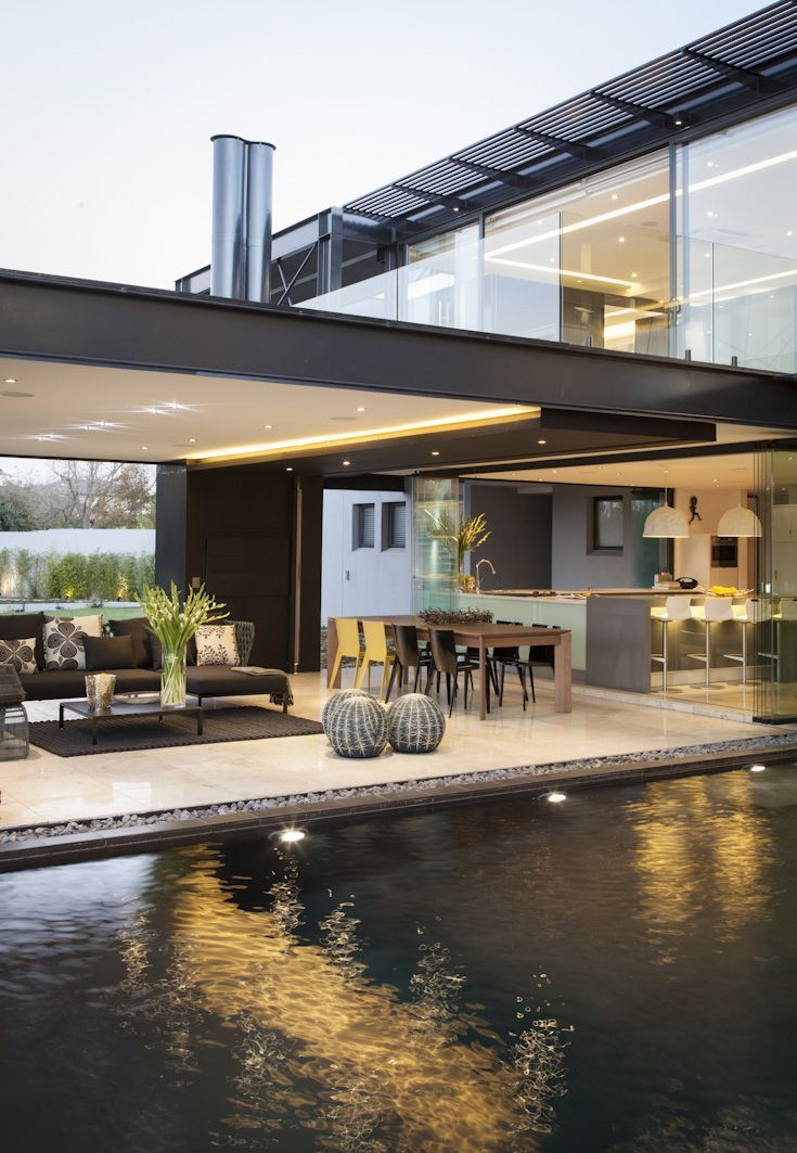 Awesome house ber inside outside nico van der meulen architects also square enix mansion design modern rh pinterest