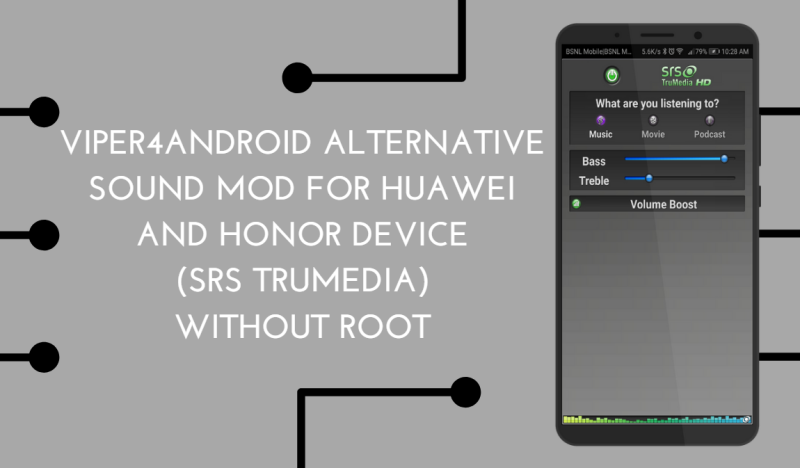 Viper4Android Alternative Sound Mod for Huawei and Honor