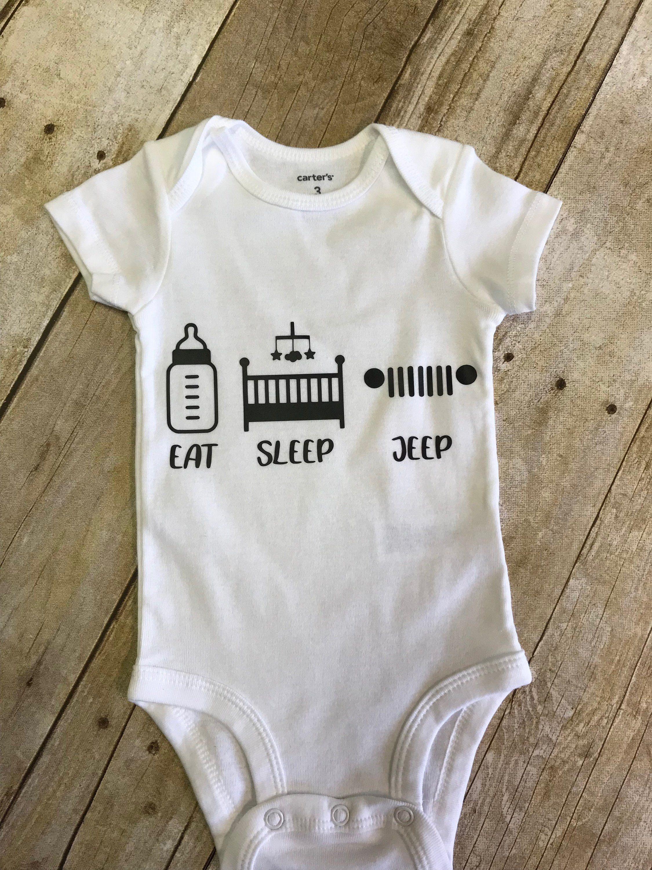 Eat Sleep Jeep Baby Onesie Shower Gift Shower Gift Ideas Eat