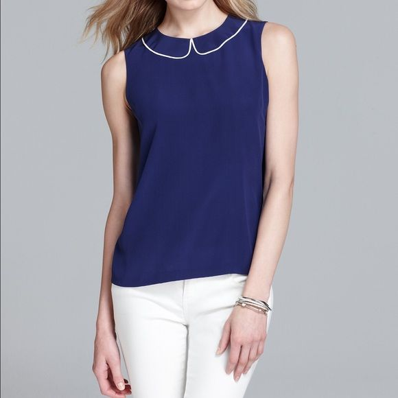 Kate Spade Silk Top Kate a Spade Top Size: 8 Fabric: 100% Silk Color: French Navy Excellent Condition kate spade Tops