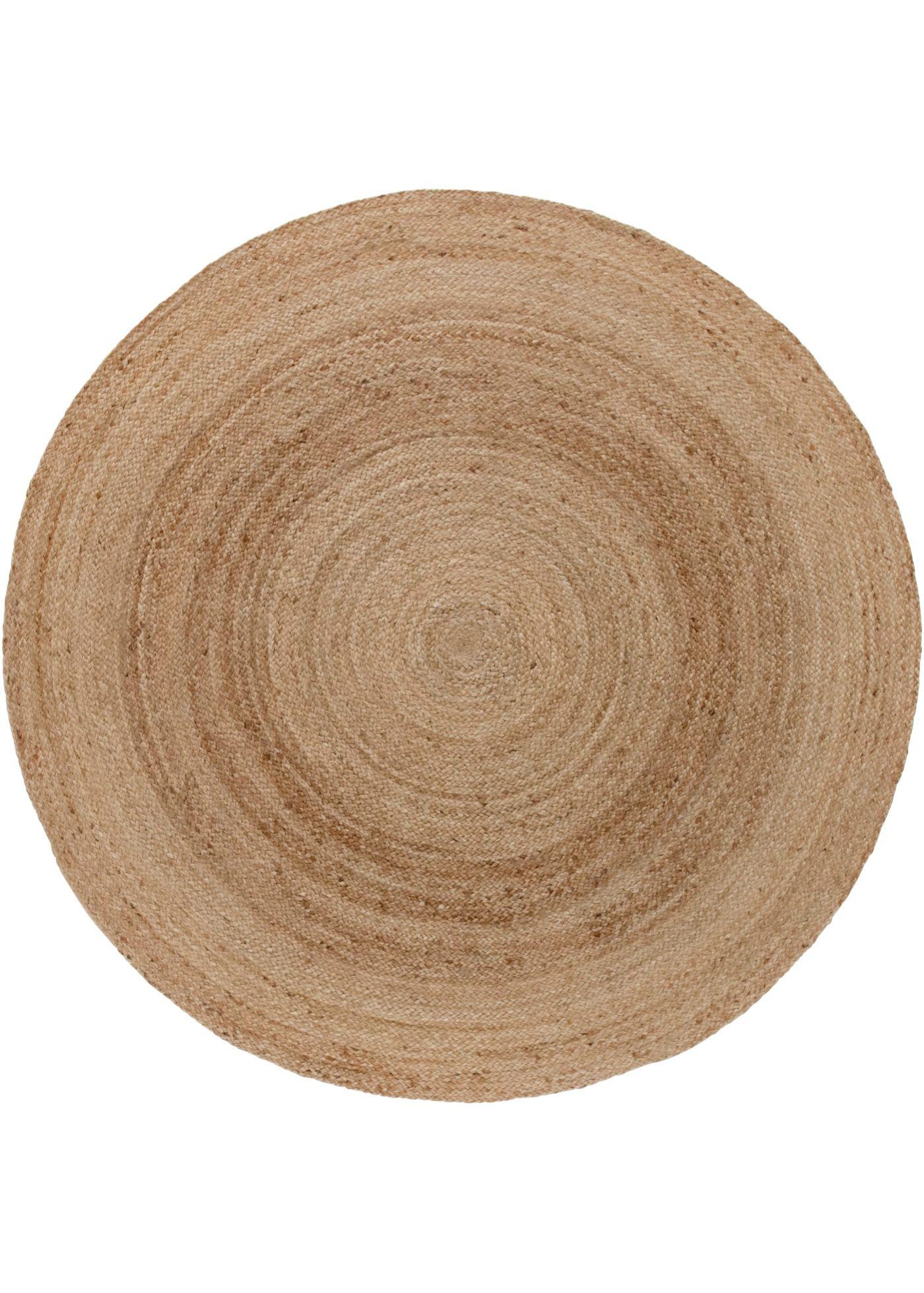 Naturmaterial In Seiner Schonsten Form Der Runde Teppich Mirja