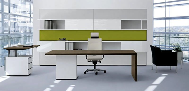 Genial Party Ideas Collections: Minimalist Executive Furniture For Office Interior  Design By Christian Horner