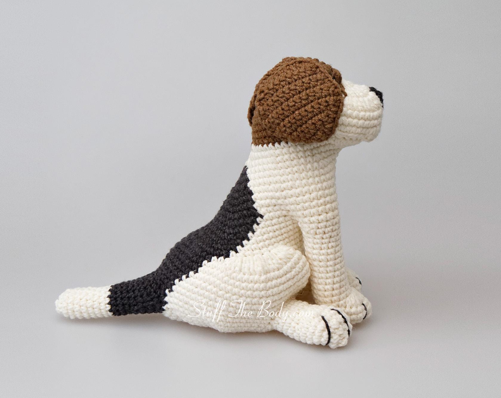 Amigurumi Lion Perritos : Azor the beagle dog amigurumi pattern amigurumi pinterest