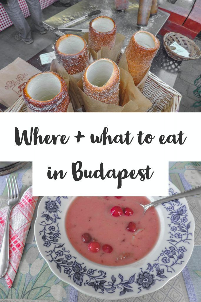 Budapest Food and Budapest Restaurants | Traditional Hungarian Food | #Budapest